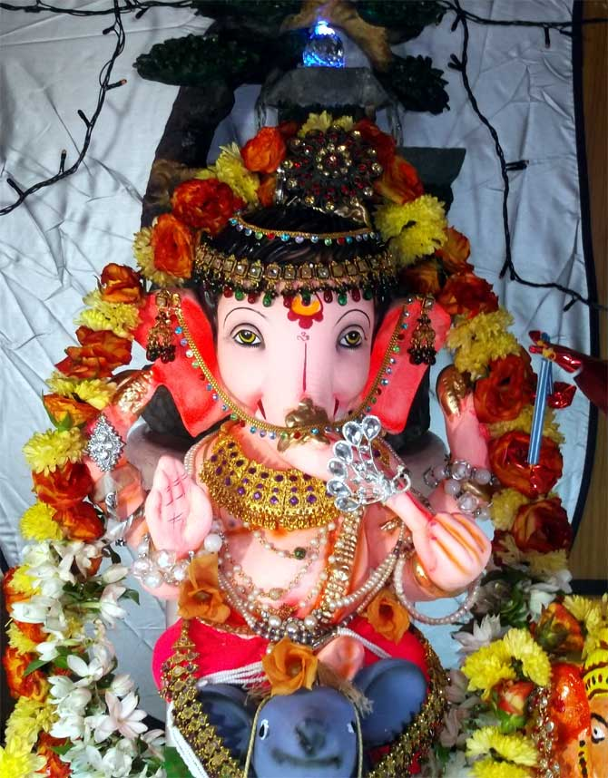 Readers' PHOTOS: Dazzling Ganeshas from across India