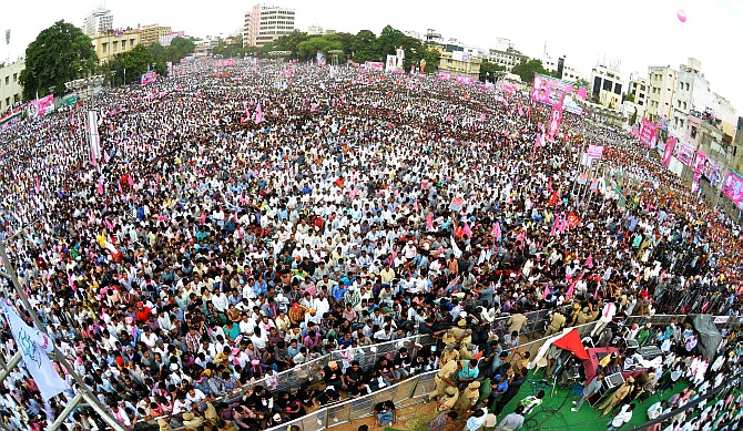 If not you, NDA will give us our state: Telangana rally warns Congress