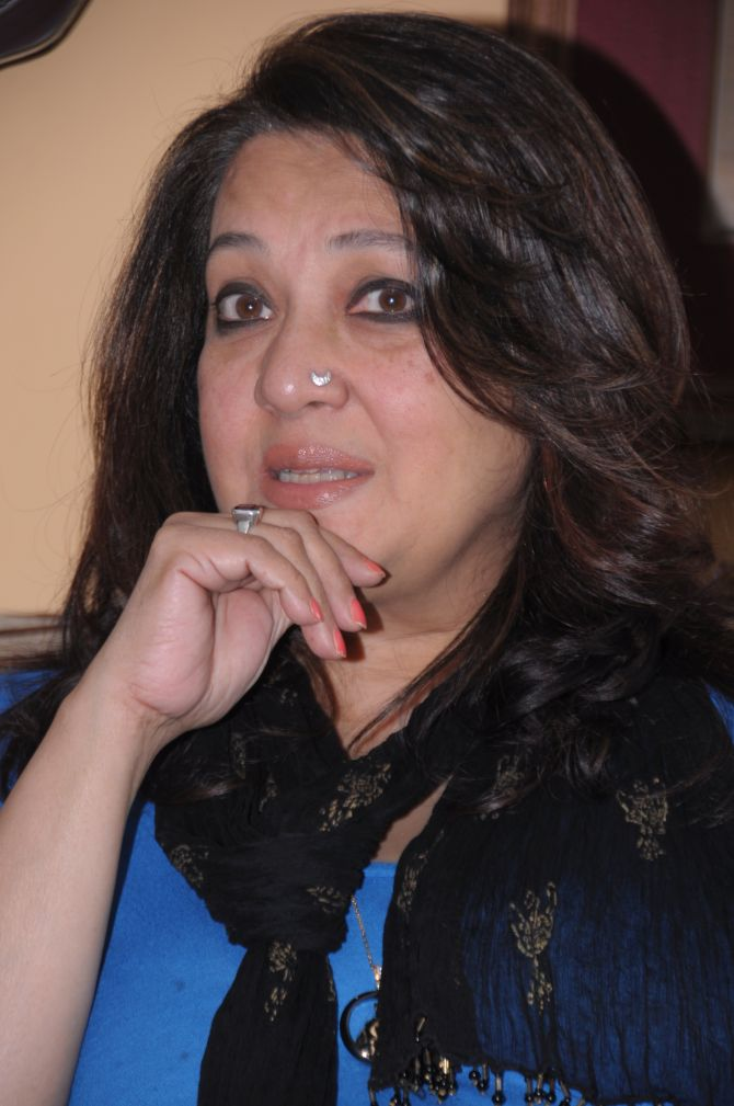 'I think the people have welcomed me as a new political face,' says Moon Moon Sen, the Trinamool Congress candidate from Bankura.