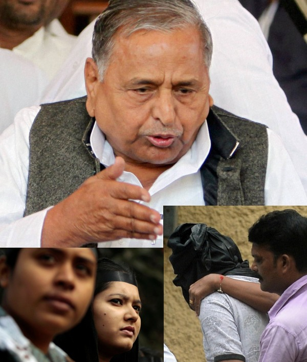 Mulayam stands by <I>Ladkon se galti ho jati hai</I> comment on rape