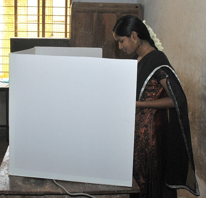 Sixth phase: Puducherry records 83 pc polling, Mumbai lags at 53 pc