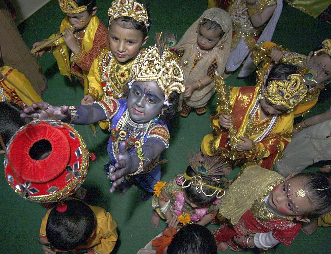 Meet the little Krishnas