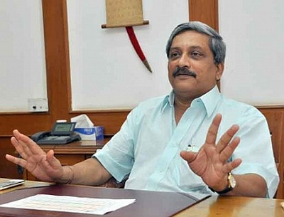 It happens when you come to Goa only to enjoy: Parrikar mocks Diggy