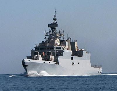 Stealth corvette INS Kamorta enters Indian Navy