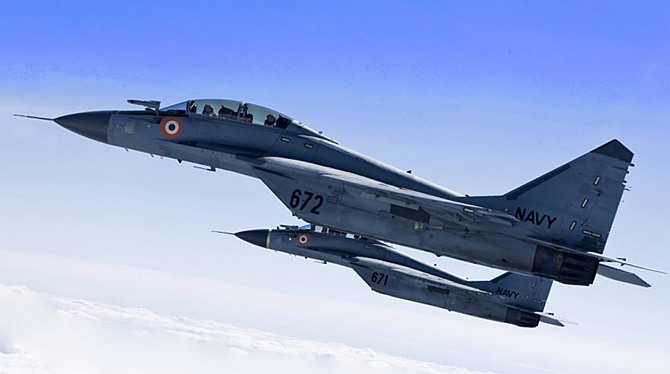 Navy to deploy MiG 29Ks in Vishakhapatnam