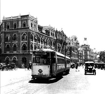 Trams in Bombay
