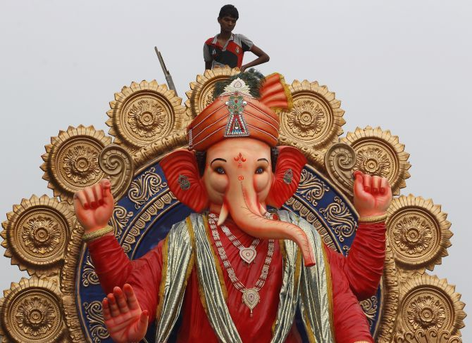 Ganesh Chaturthi is a 10-day festival in India