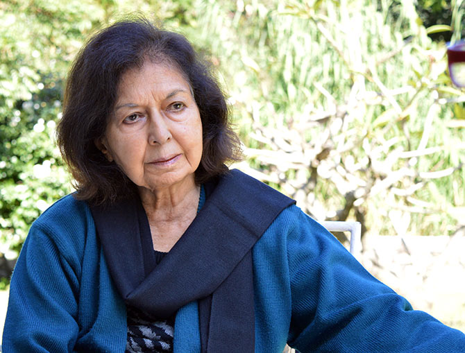 Row kicked up after author Nayantara Sahgal dropped from literary meet