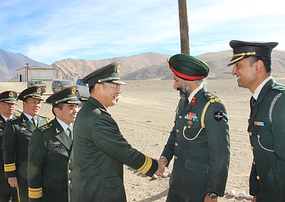 India, China bonhomie at LAC on Army Flag Day