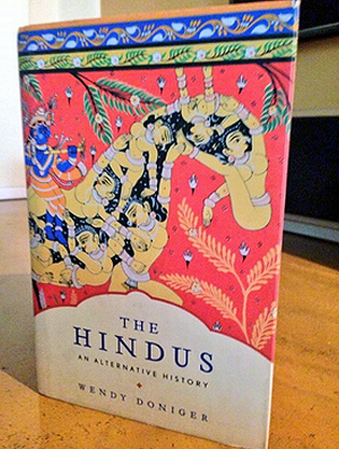 The cover of Wendy Doniger's controversial book.