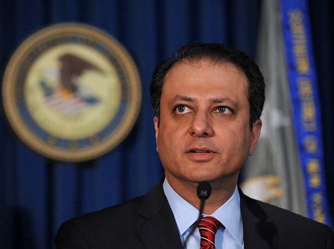 US Attorney Preet Bharara.