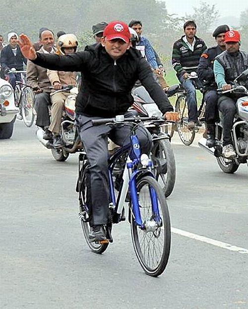 Why EC awarded 'cycle' to Akhilesh