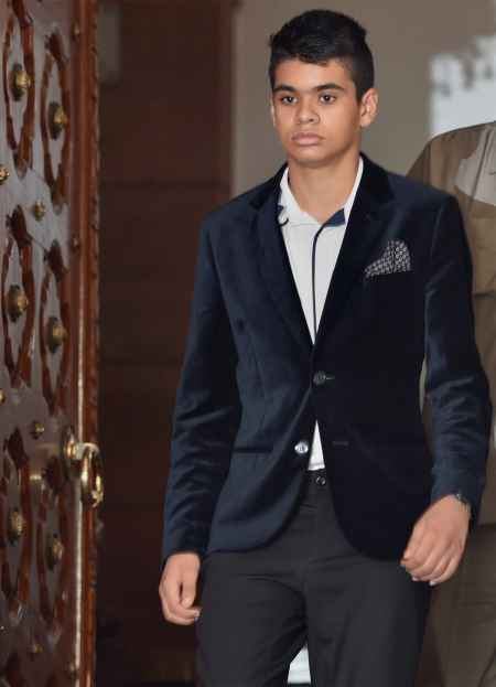 Raihan sat for a while in Sonia Gandhi's office