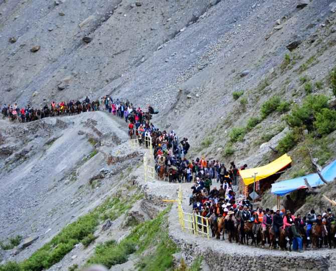 500 pilgrims a day cap set for Amarnath Yatra