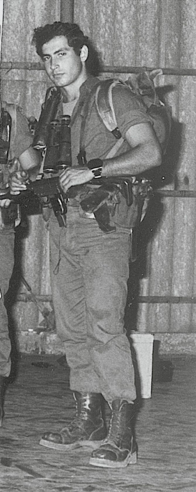 Benjamin Netanyahu is seen as a Sayeret Matkal commando in this undated file handout picture from the 1970's, released to Reuters by the Israeli Government Press Office