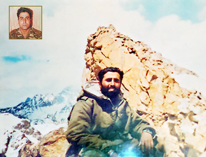 Captain Vikram Batra in the Drass sector