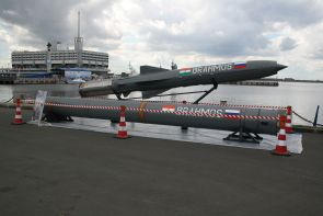 BrahMos missile test-fired from warship INS Kolkata