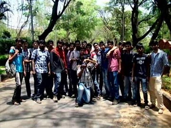 The group of students from Hyderabad to went on an excursion to Himachal