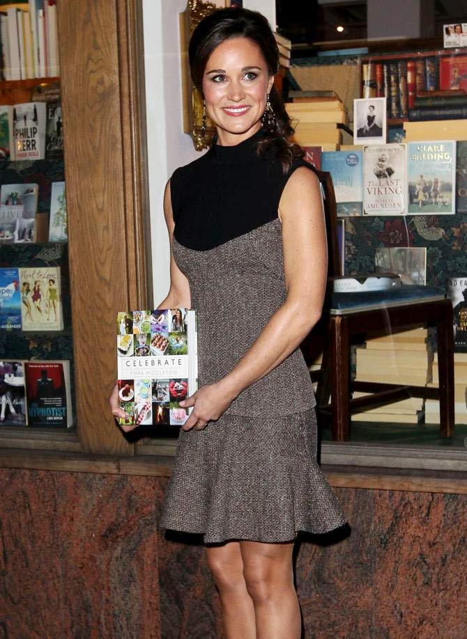 Pippa Middleton attends the launch party for her new book.