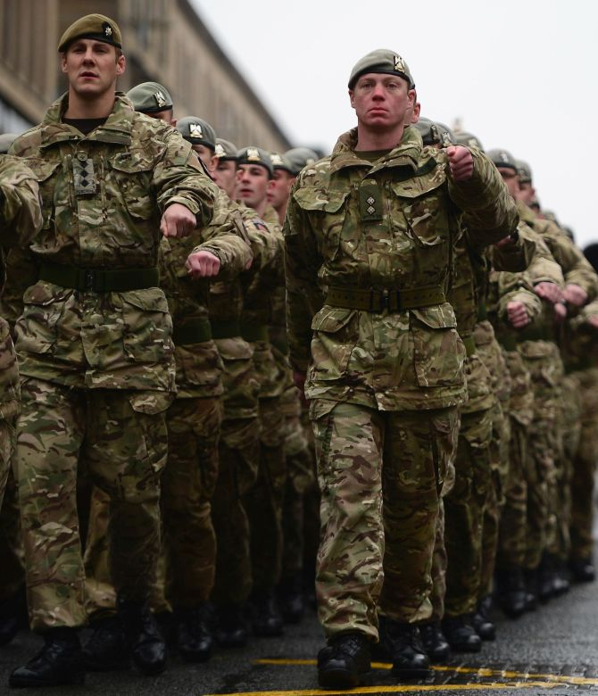 British army too fat to fight?
