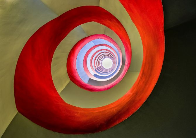 Winner 'Architecture': 'Under the staircase' by Holger Schmidtke, Germany