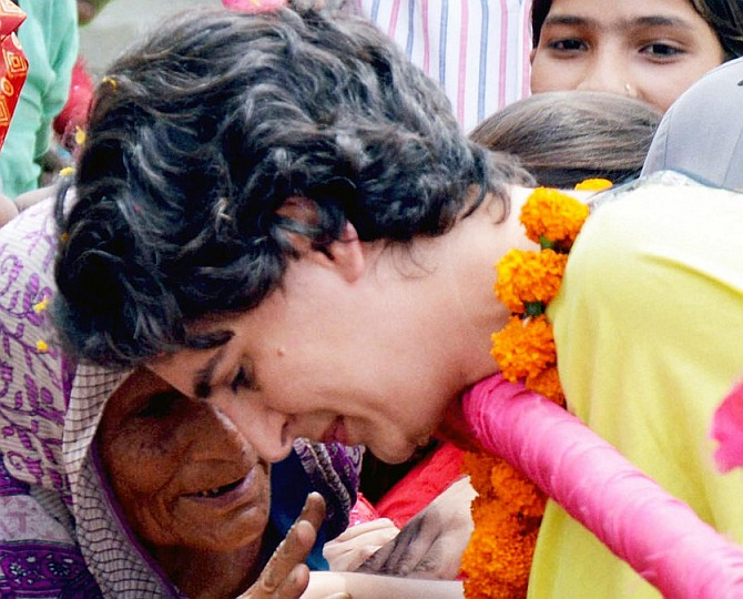 Dirty books on my family are being distributed in Amethi: Priyanka