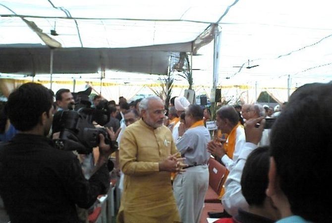 PHOTOS: The time I met Narendra Modi