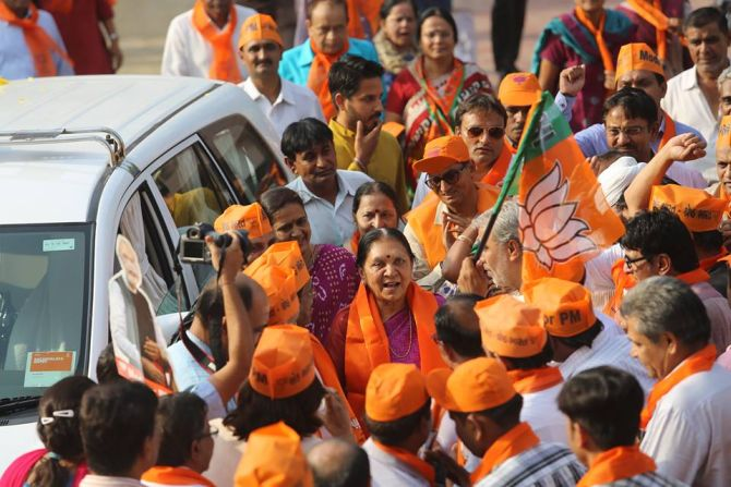 Modi resigns, Anandiben Patel to be new CM of Gujarat