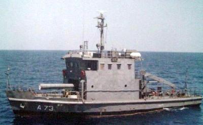 Torpedo recovery vessel sinks near Vizag; 1 dead, 4 missing