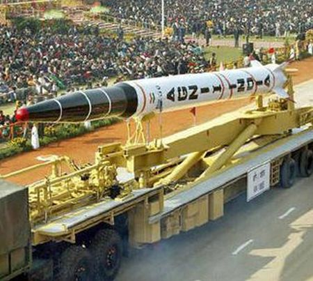 Nuclear-capable Agni-II missile successfully test fired