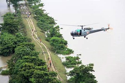 IAF 115 helicopter unit wins President's award