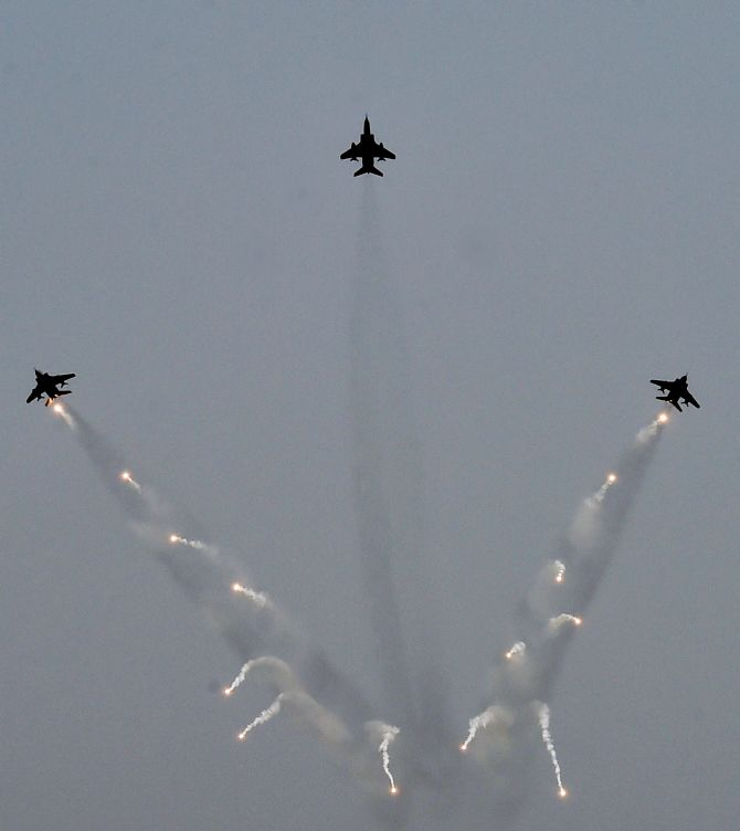 TOP GUNS: Indian Air Force shows its might