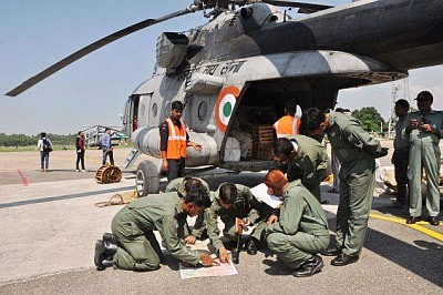 Hudhud: Armed forces reposition resources in Andhra, Odisha