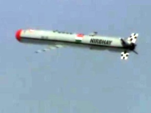 India successfully test-fires cruise missile Nirbhay