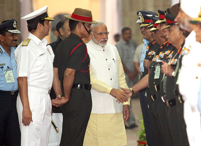 PM to commanders: Be ready for 'invisible' enemy