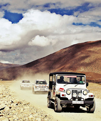 The thrill of offroading in Himalayan heights!