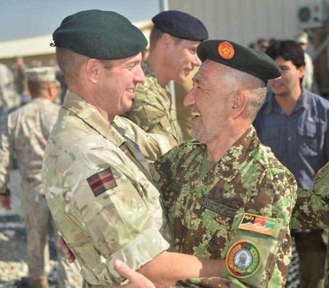 End of a long war: Britain withdraws from Afghanistan