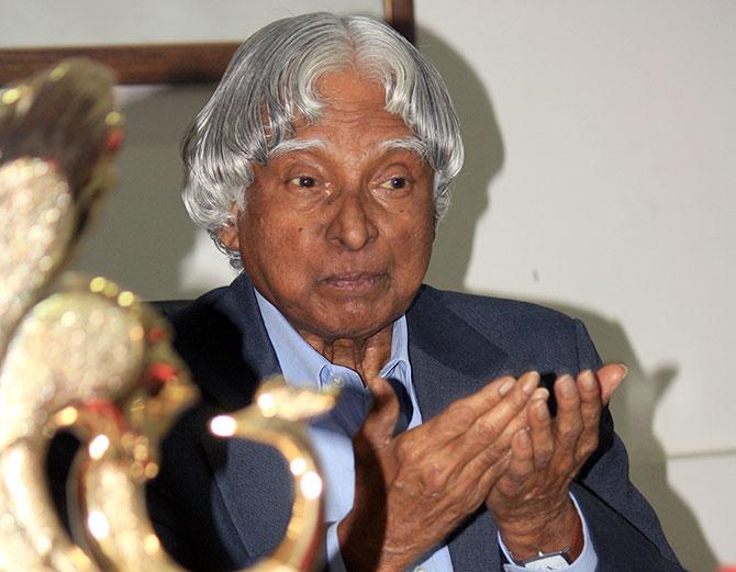President A P J Abdul Kalam