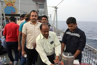 When INS Sumitra crew went beyond their call of duty