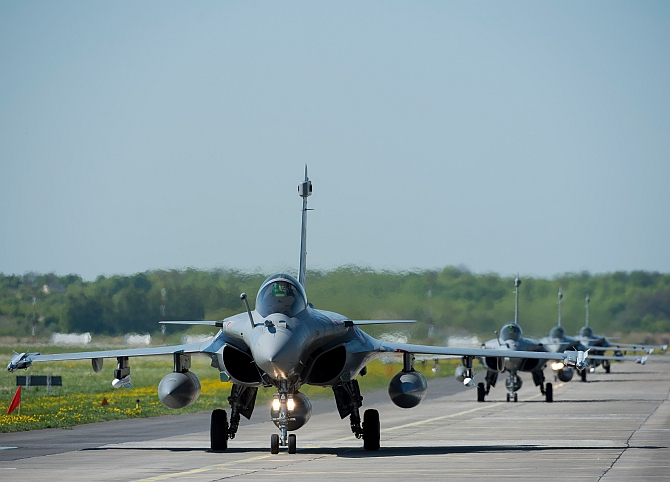 3 Rafale jets handed over to IAF by France: Govt