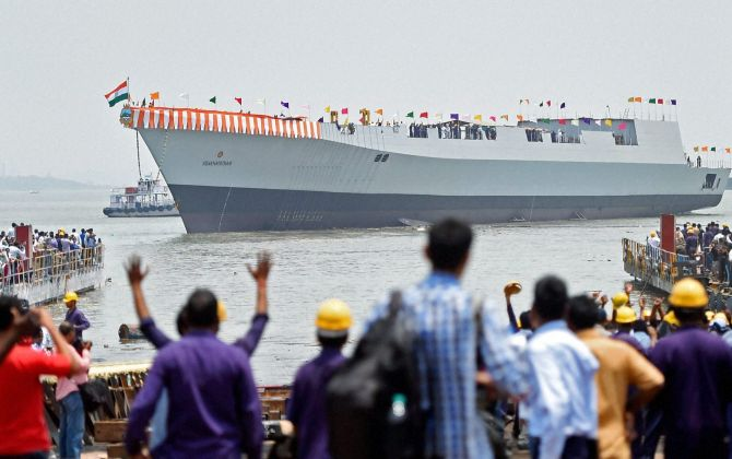 Okay, so India can build economical warships