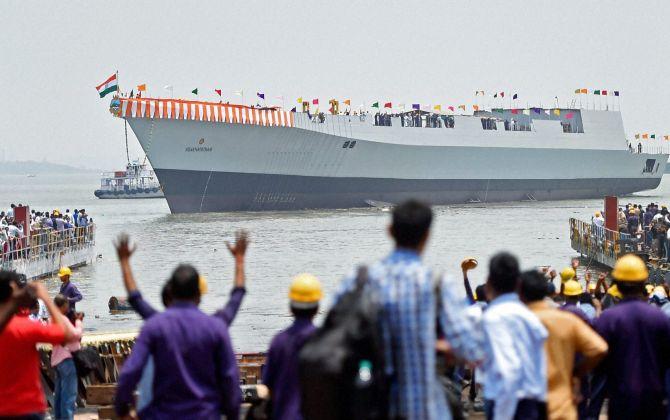 Okay, so India can build economical warships