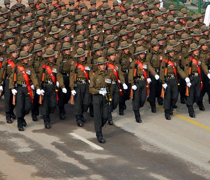 Gorkha Rifles marks 200 years of service