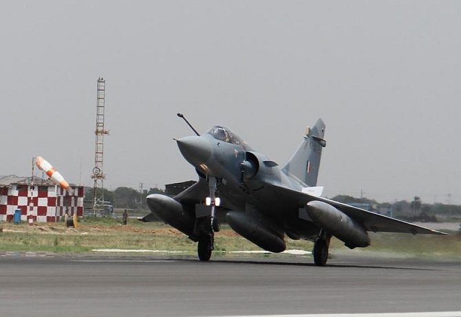 1st upgraded Mirage 2000 fighter jet arrives