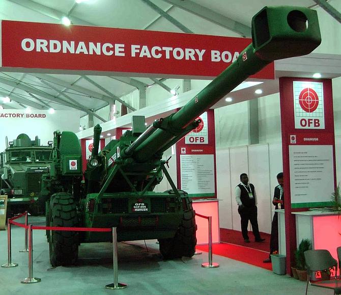 The 45-calibre Dhanush field artillery gun is here!