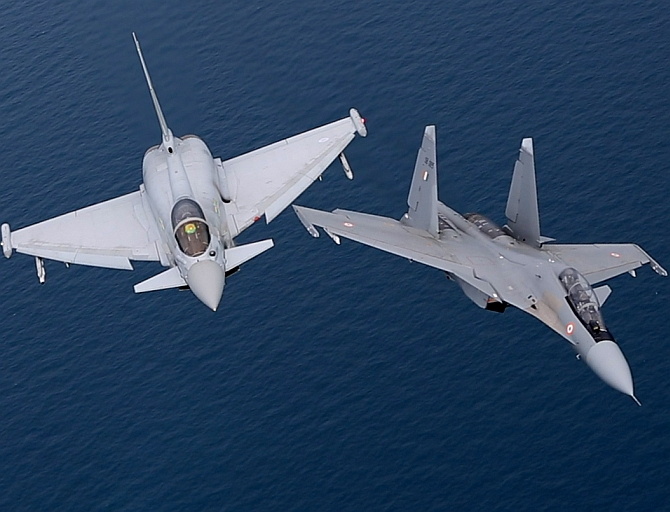 IAF Sukhoi vs RAF Typhoon: Controversy in the skies