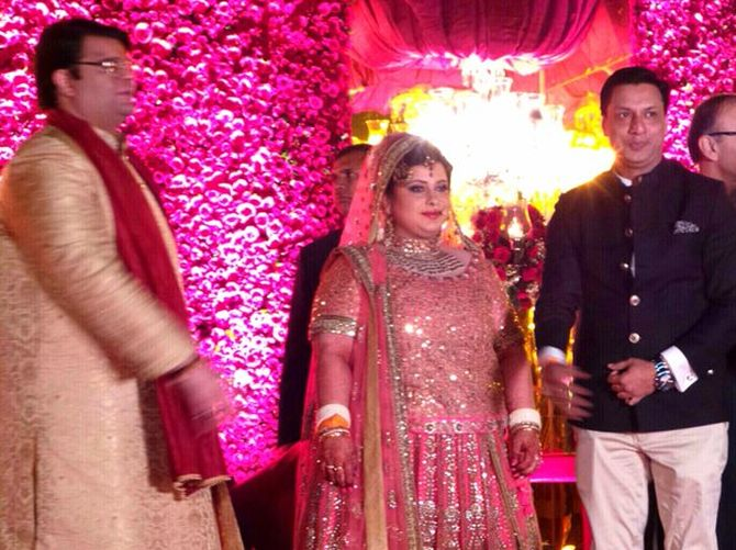 Photos Arun Jaitleys Daughters Big Indian Wedding Rediff
