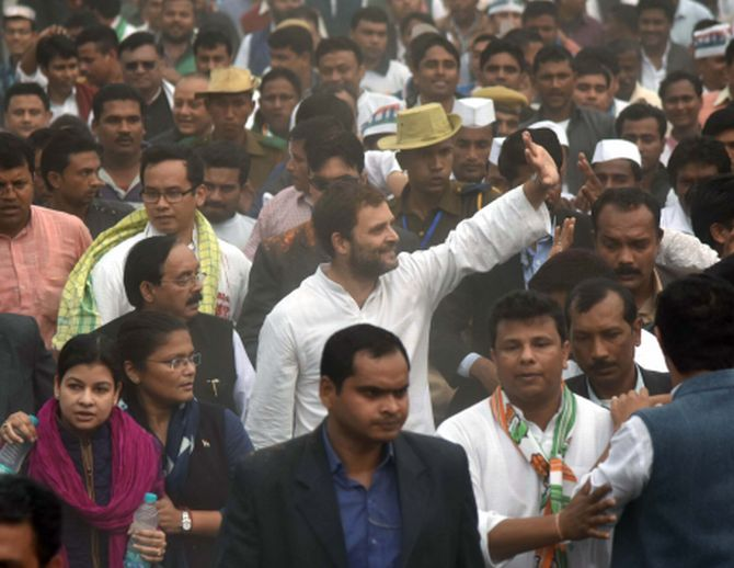 We brought in GST, we're not against it: Rahul