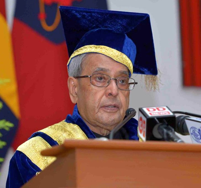 What President told India's young military technocrats