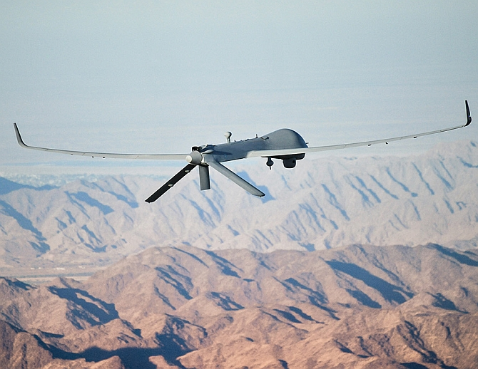 India keen on buying 100 drones from US